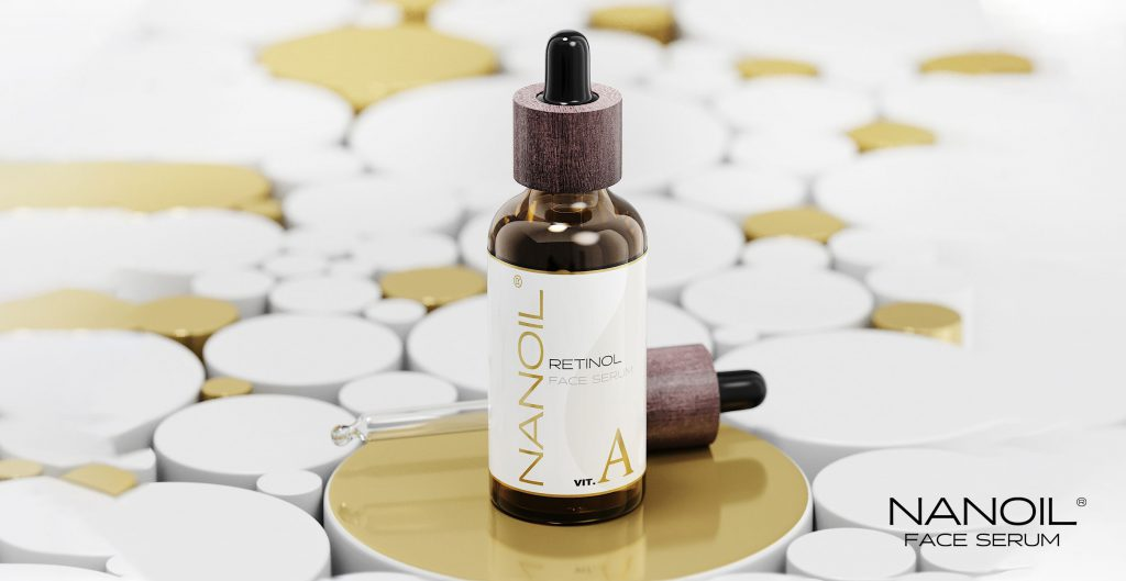 nanoil retinol face serum
